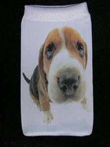 """Housse chaussette universelle pour téléphone portable """"chien"""""""