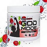 GAMER SUPPS God Mode Gaming Booster, der eSports Energy Drink für Gamer, wenig Kalorien, wenig Zucker, 280g, 40 Portionen