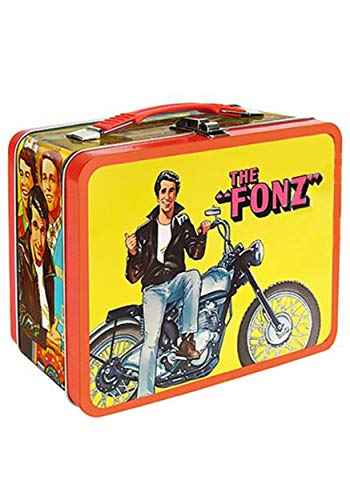 Entertainment Earth Exclusive The Fonz Happy Days Tin Tote Lunchbox Standard