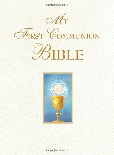 My First Communion Bible (White) Cover Image