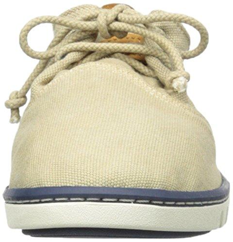 TIMBER 2297A TAN hookset Schuhe Unisex Junge Stoff Schnürsenkel Beige