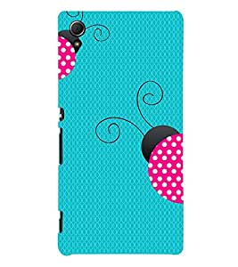 Honey Bee 3D Hard Polycarbonate Designer Back Case Cover for Sony Xperia Z3+ :: Sony Xperia Z3 Plus