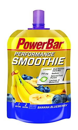 Powerbar Performance Smoothie Banane Heidelbeere, 1er Pack (1 x 90 g)