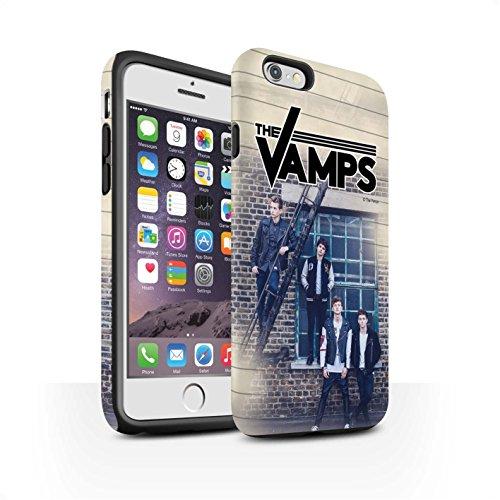 Offiziell The Vamps Hülle / Matte Harten Stoßfest Case für Apple iPhone 6S / Skizzieren Muster / The Vamps Fotoshoot Kollektion Tagebuch