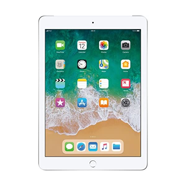 Apple IPad 97 Inch Multi Touch Tablet PC 32GB A10 Chip WiFi Cellular Bluetooth Camera Retina Display IOS 11 Touch ID Silver