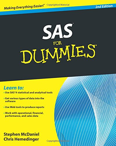 SAS For Dummies, 2nd Edition (For Dummies Series)