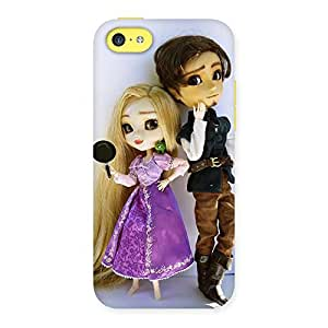 Cute Cutest Couple Multicolor Back Case Cover for iPhone 5C