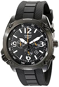Casio Homme MTF-E002B-1AVCF Classic Analog Display Quartz Black Montre