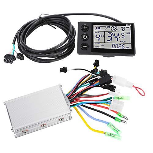 Vobor Controlador Sin Escobillas - Scooter Eléctrico Kit De Escobillas Sin Escobillas, Panel De Pantalla LCD 24V-48V para Bicicleta Eléctrica (tamaño : 1#24V-36V)