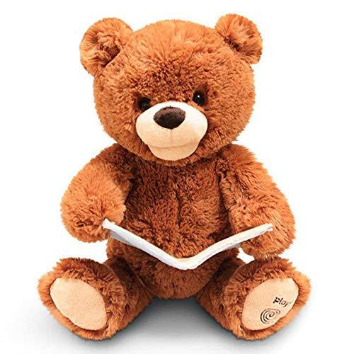 echender Bär, animiertes Plüschspielzeug, Spielkamerad zum Erzählen der Bettzeit ()