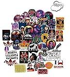 Laptop Aufkleber 68Pcs Strangers, Wasserdicht Vinyl Stickers Graffiti Style Decals für...
