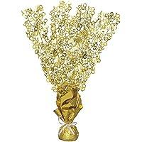 Partido Ênico Glitz Aniversario de Boda Globo Peso Centrepiece (Oro)