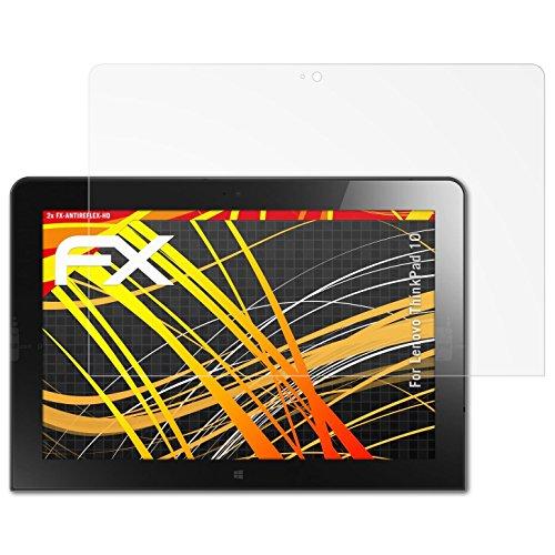 atFolix Schutzfolie kompatibel mit Lenovo ThinkPad 10 Bildschirmschutzfolie, HD-Entspiegelung FX Folie (2X)