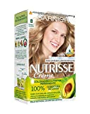 Garnier Nutrisse Creme coloración permanente con mascarilla nutritiva de cuatro aceites - Rubio...
