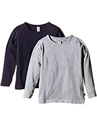 Magic Kids Jungen Langarmshirt, 2er Pack