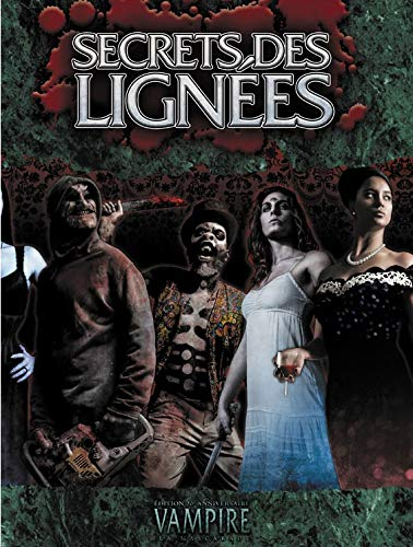 Arkhane Asylum Publishing Vampire la Mascarade Secrets des lignées par