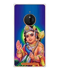 Fuson Designer Back Case Cover for Nokia Lumia 830 (Sri Murugan Karthikeya Skanda Subramaniyam Vishnu)
