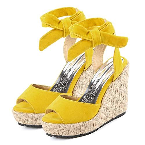 00f15e96a8 Sandalias De Mujer Verano 2019 Sandalias Con Plataforma Para Mujer Zapatos  De Cuña Comodos Cuñas.