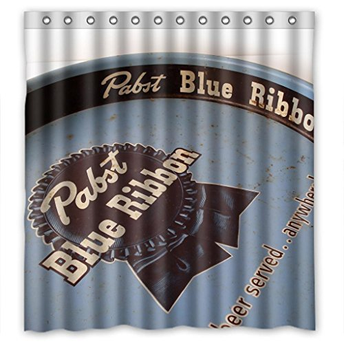 pabst-blue-ribbon-durable-fabric-shower-curtain-measure-66wx72h