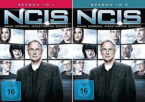 Navy CIS Staffel 10 (10.1 + 10.2) im Set - Deutsche Originalware [6 DVDs]