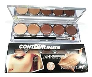 Kiss Beauty Contour Concealer Highlighter Palette (5 Color)