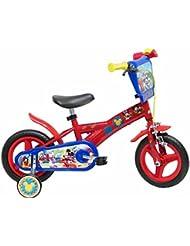 13193 Disney - Mickey Mouse de bicicletas con freno, de 10 pulgadas