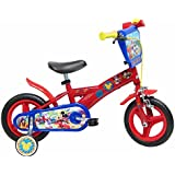 13193 Disney Mickey Mouse Fahrrad mit Bremse, 10 Zoll