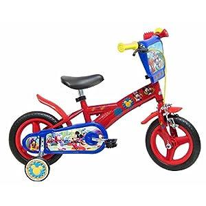51b1PUmaRLL. SS300 Disney 13193 - Mickey Mouse Bicicletta con Freno, 10 Pollici