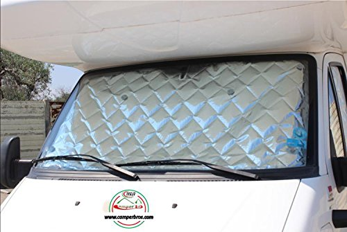 Camperbros Oscurecedor Termico Interior Para Cabina 3 Piezas 9 Capas Camper Mercedes Vito 2003 2014