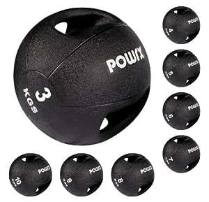 Balle médicale / Médecine ball à double poignée (3 kg)
