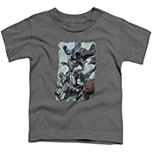 Batman Dc Comics Superhero espantapájaros Punch Little Boys camiseta Tod