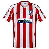 Nike ATM M Nk BRT Stad JSY SS Hm Camiseta, Hombre, Sport Red/White/Deep Royal Blue, XL