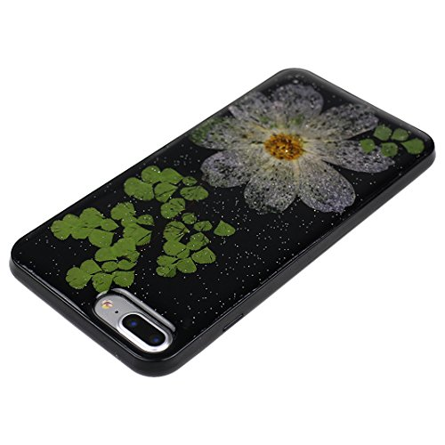 HuaForCity® iPhone 6s iPhone 6 Custodia TPU Soft Silicone Cassa Davvero Fiore Silicone Case Bumper Custodia Morbida Cover Ultra Sottile Custodia Flessibile Liscio Caso Anti Graffio Anti Scossa Anti Sc Flower-11