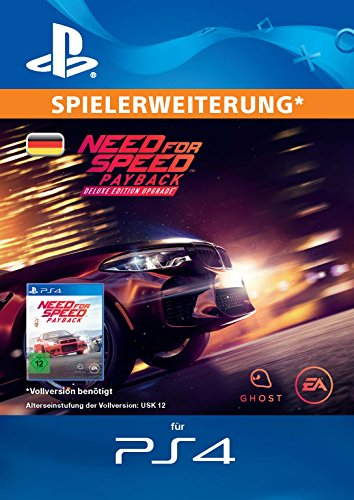 Need for Speed Payback - Deluxe Edition Upgrade DLC | PS4 Download Code - deutsches Konto