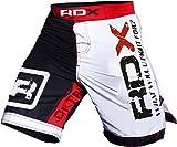 RDX MMA Pantalones Boxeo Corto UFC Shorts Entrenamiento Muay Thai Running Fitness