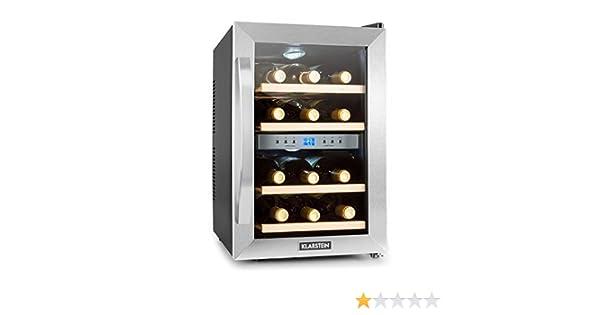 Kleiner Weinkühlschrank : Reserva weinkühlschrank noir argente amazon elektro großgeräte