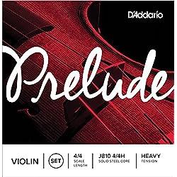 D'Addario J810 4/4H Juego de Cuerdas