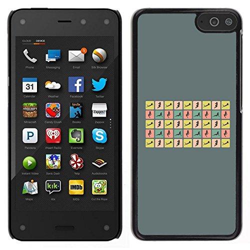 All Phone Most Case / Carino Immagine Rigida Custodia Duro protettiva Caso Cellulare Cassa / Hard Case for Amazon Fire Phone // Donna sexy pone Curvy Corpo Hour Glass