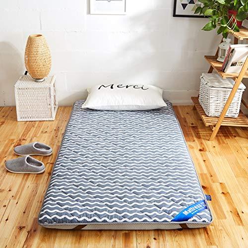 Schlafen Pad,atmungsaktive Futon Matratze Matte,folding Japaner Bett Roll Matratzenauflage Topper Abdeckung Für Schüler Dorm Home-b Twin Xl ()