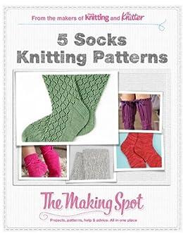 5 Socks knitting patterns by [Publishing, Future]