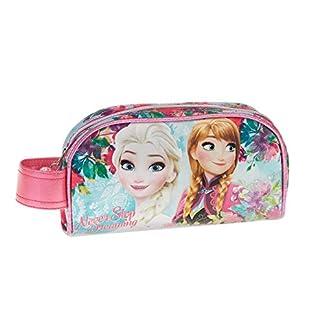 Disney Frozen Estuche portatodo, Color Turquesa, 21 cm (Karactermanía 32353)