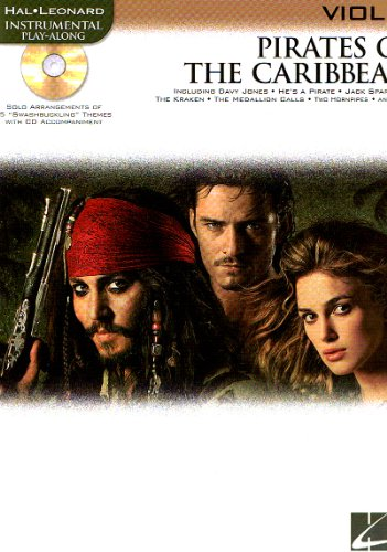 PELICULAS - Piratas del Caribe (Pirates of The Caribbean) (Seleccion) para Violin (Inc.CD) (Badelt)