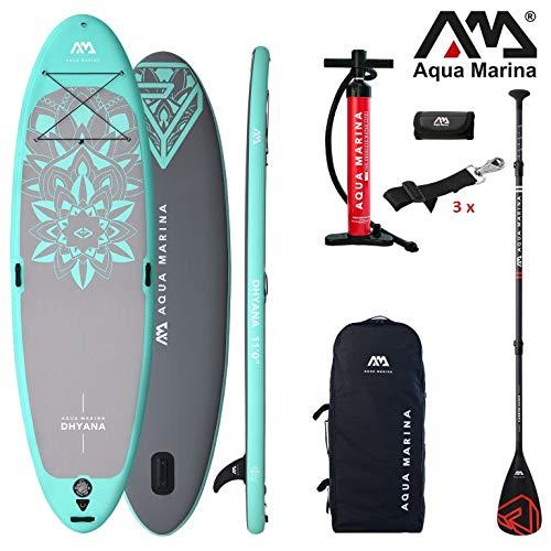 Aqua Marina DHYANA 2019 Yoga SUP Board Inflatable Stand… | 04211058218378
