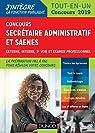 Concours Secrétaire administratif et SAENES - Tout-en-un - Concours 2019 par Beyssade