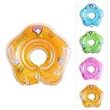 FLOVEME Salvagente Gonfiabile per Bambini Baby Float Piscina Neonati 1-18 Mesi Supporto di Collo immagine