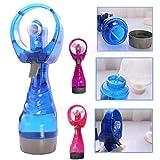 Sansee Mini Beweglicher Hand Spray Kühlventilator, Wasser Spray Vernebelungsventilator Nebel Spielraum Strand Ventilator