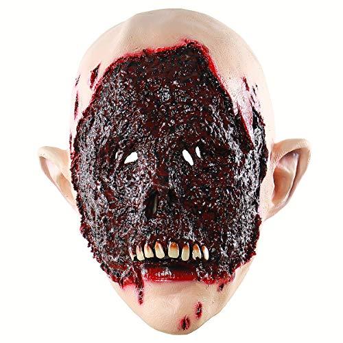 Bestoyard halloween bloody face zombie maschera testa di cosplay spaventose creepy terrificante