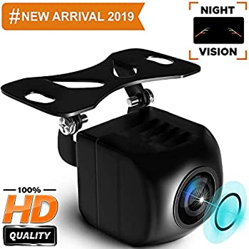 140/View Grad Night Parking HD Farb R/ückfahrkamera mit Monitor Kit Wasserdichte IR-LEDs f/ür Truck Trailer /… micarba WiFi Auto Kamera