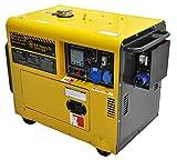 Generatore di Corrente Diesel 4.5 kw - Gruppo elettrogeno silenziato - avviamento Elettrico Automatico ATS