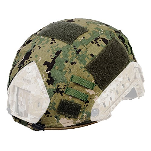 Fast-helm Für Helm-cover (Serie Military Tactical Airsoft Combat ops-core Ballistic Fast Helm Cover Armee Paintball Jagd Shooting Gear(ohne helm), Aor2)